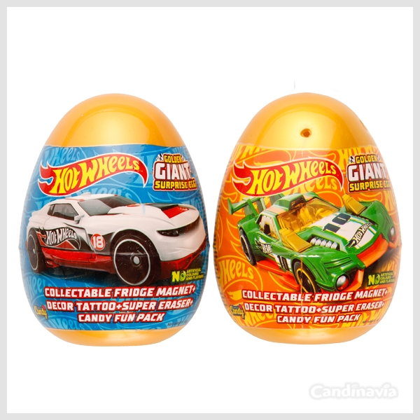 HOT WHEELS GOLDEN GIANT EGGS