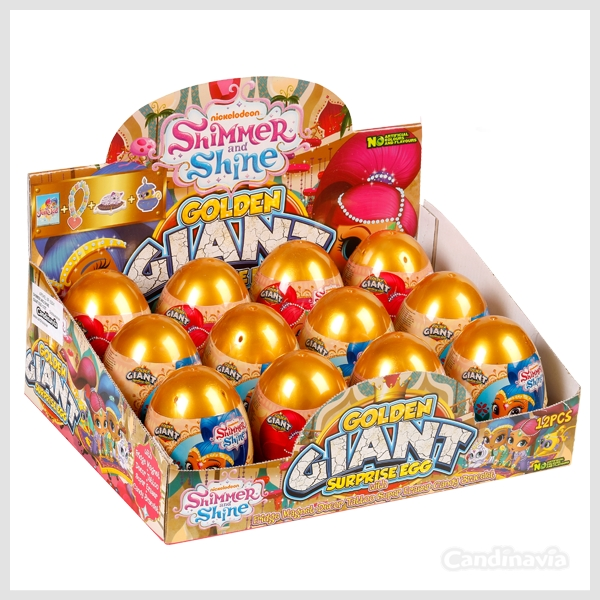 SHIMMER AND SHINE GOLDEN GIANT EGGS