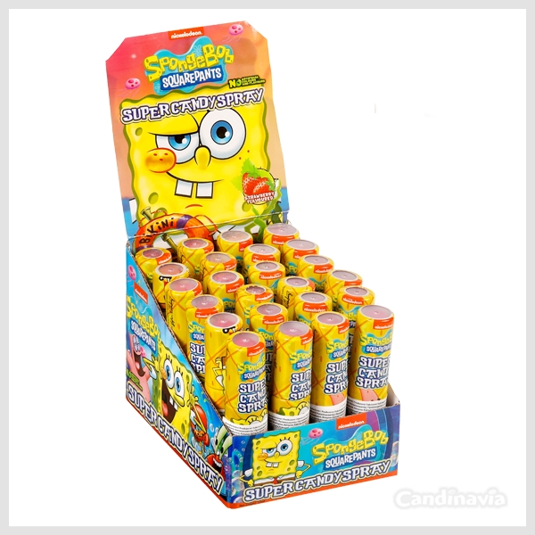 SPONGE BOB CANDY SPRAY