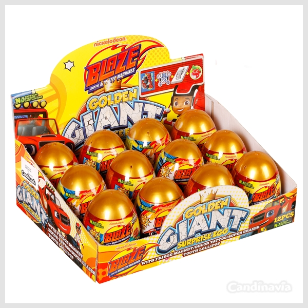 BLAZE GOLDEN GIANT EGGS