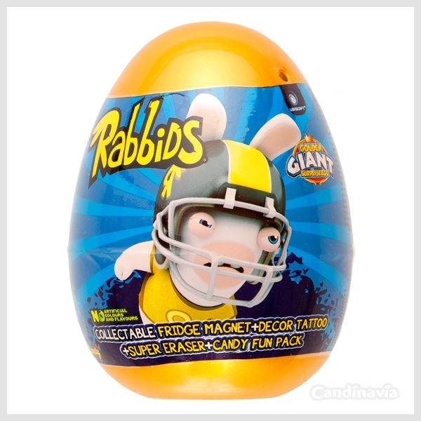 RABBIDS GOLDEN GIANT EGGS