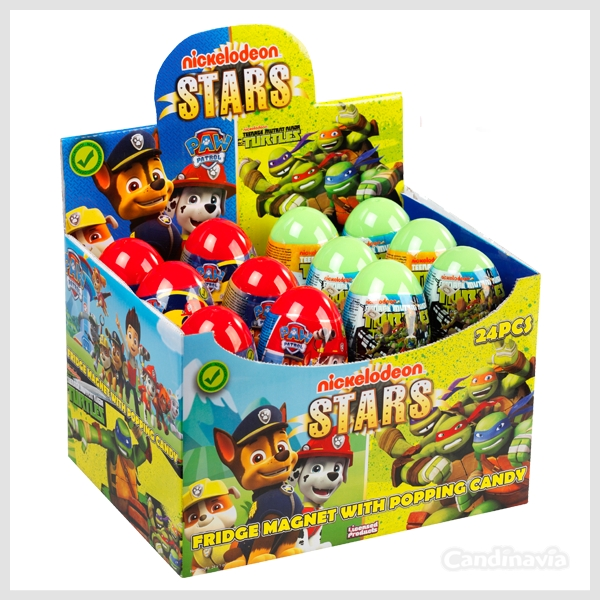 PAW PATROL + NINJA TURTLES EGGS