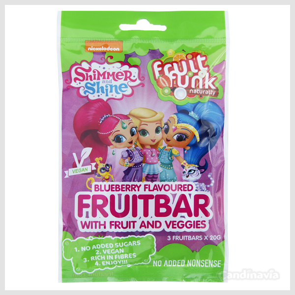 SHIMMER & SHINE FRUITBAR 3-PACK