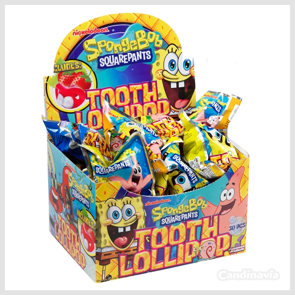 SPONGE BOB TOOTH CANDY