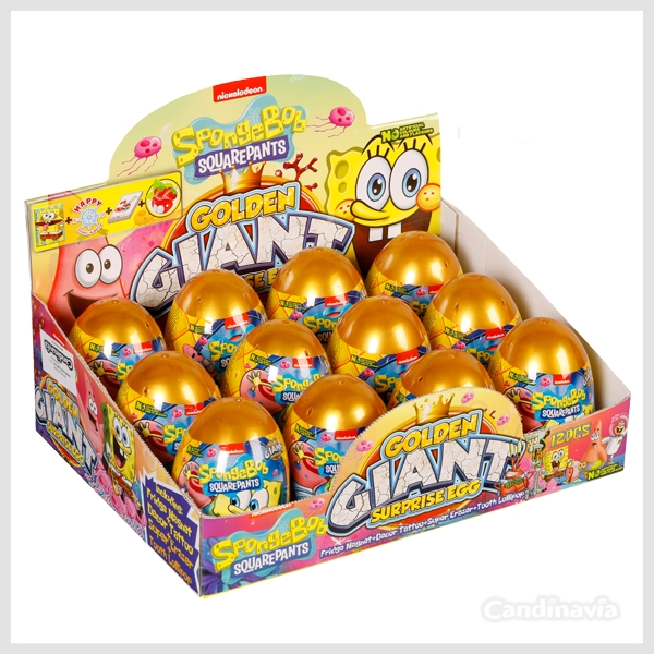SPONGE BOB GOLDEN GIANT EGGS